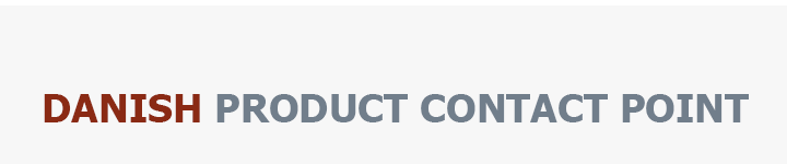 Danish Product Contact Point Logo